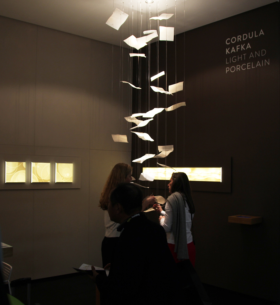 Special exhibition Trend Forum Our Trou Pendants are exhibited in Hall 5.5 / 6.1 Foyer & EN] u2013 Cordula Kafka